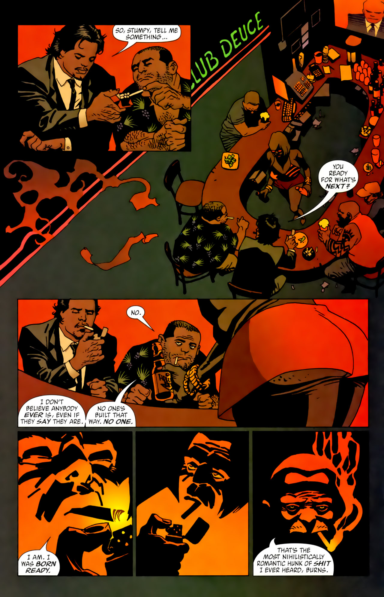 Read online 100 Bullets comic -  Issue #62 - 5