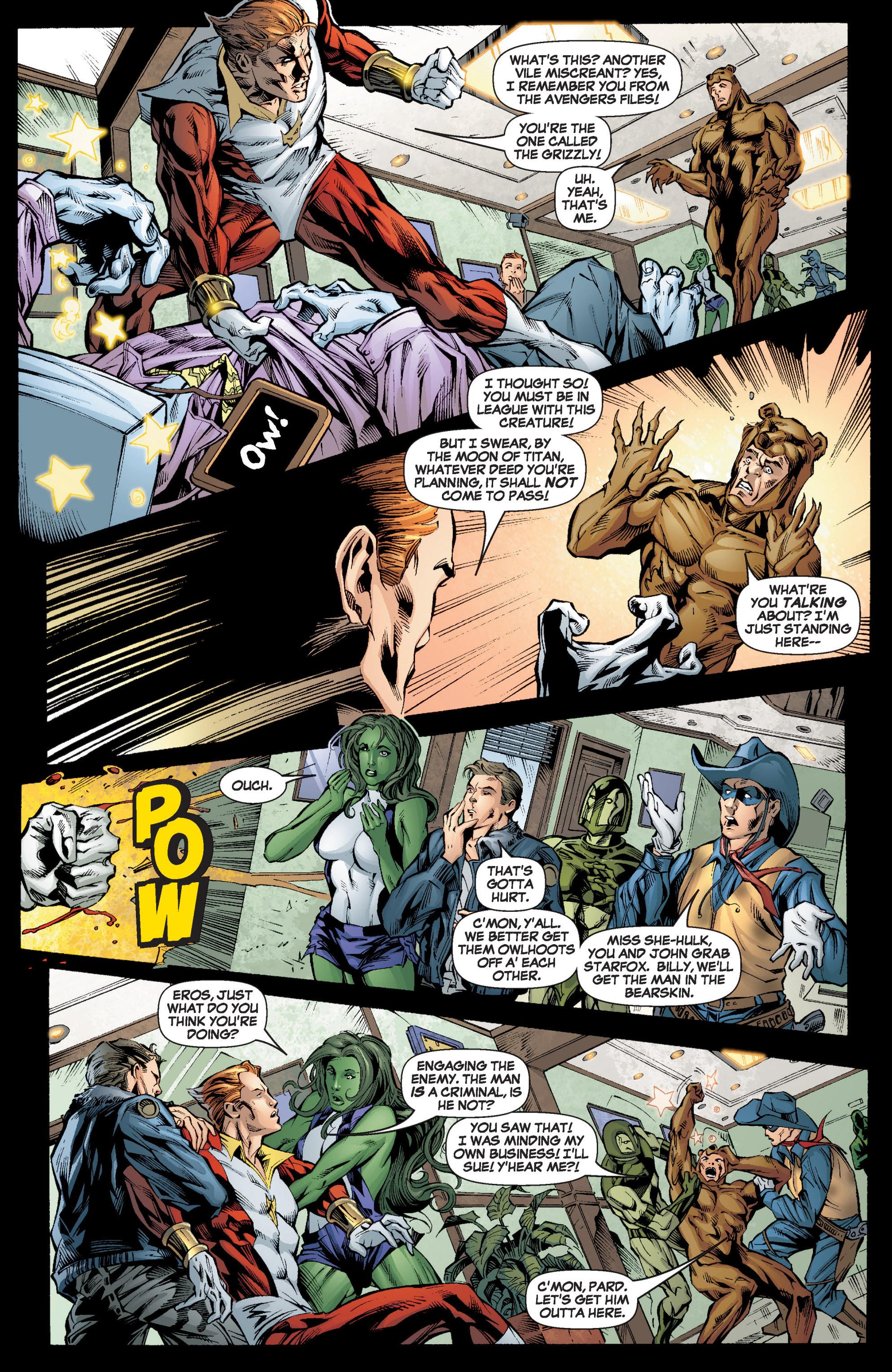 Read online She-Hulk (2005) comic -  Issue #6 - 18