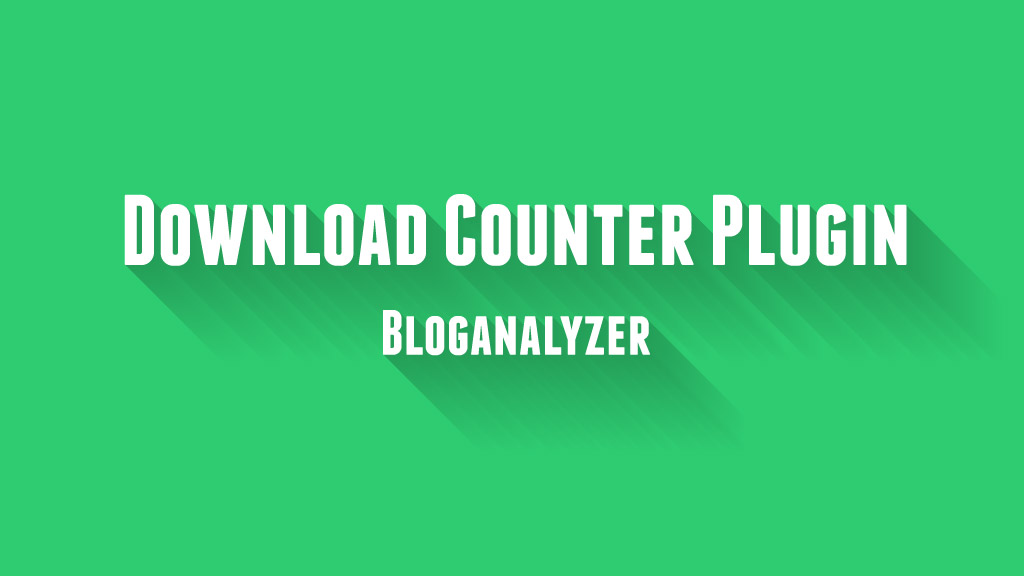 Download Counter Plugin