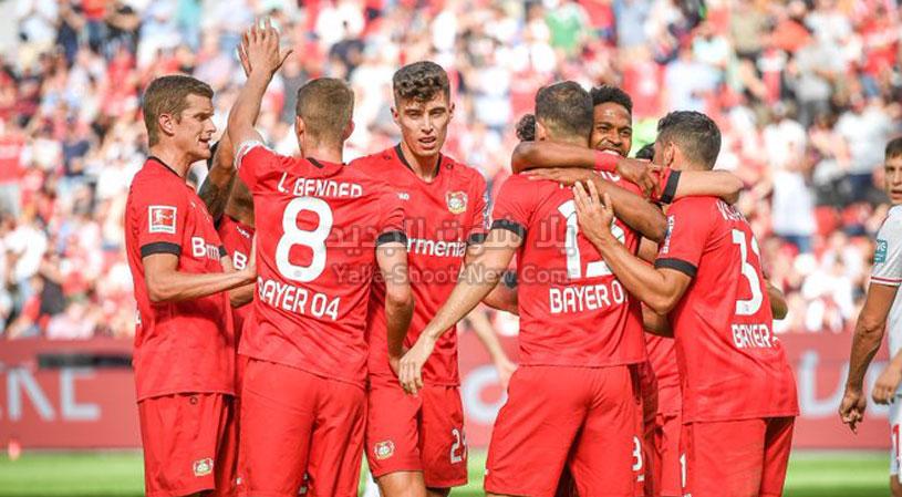 باير ليفركوزن يتغلب على فريق شالكه بهدفين لهدف في الجولة 14 من الدوري الالماني
