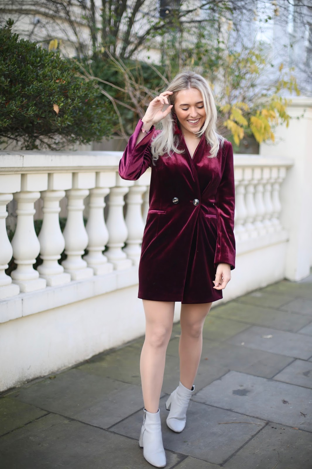 topshop blazer dress