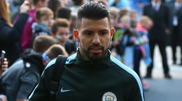 Manchester City Striker, Aguero Fractures Rib in Fatal Car Crash (See Photos)