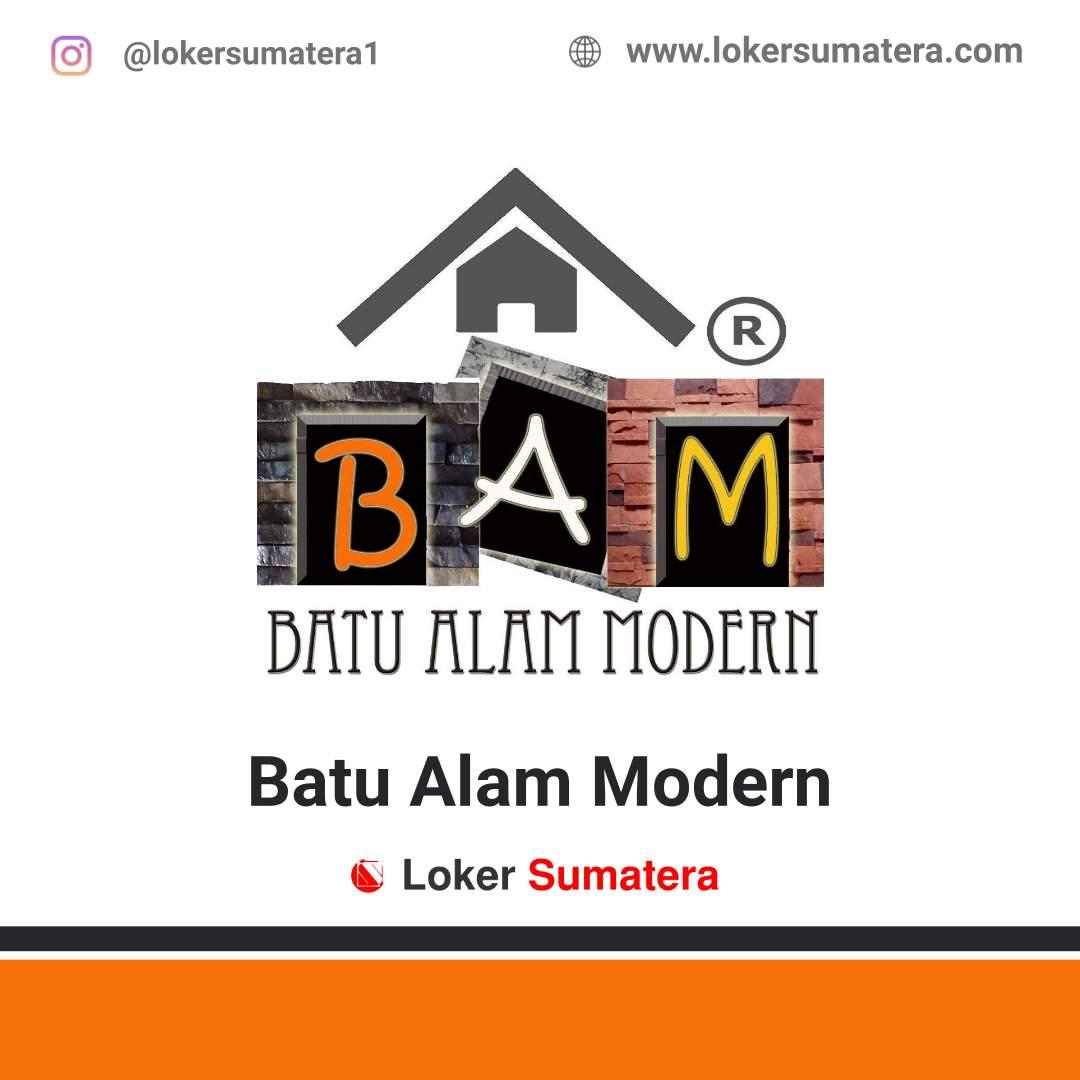 Lowongan Kerja Palembang: BAM Batu Alam Modern Juni 2020