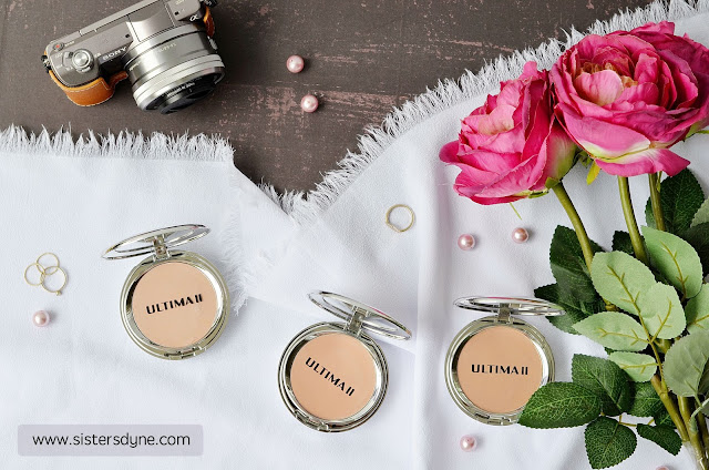 ULTIMA II delicate creme powder makeup and delicate translucent face powder