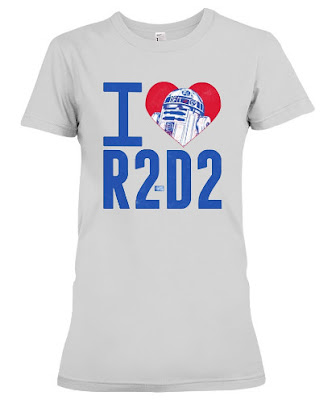 Starwars Love R2-D2 T Shirt Hoodie Sweatshirt