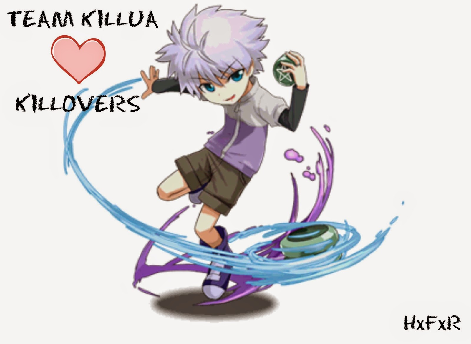 Killovers, Killua, Hunter x Hunter, hxfxr