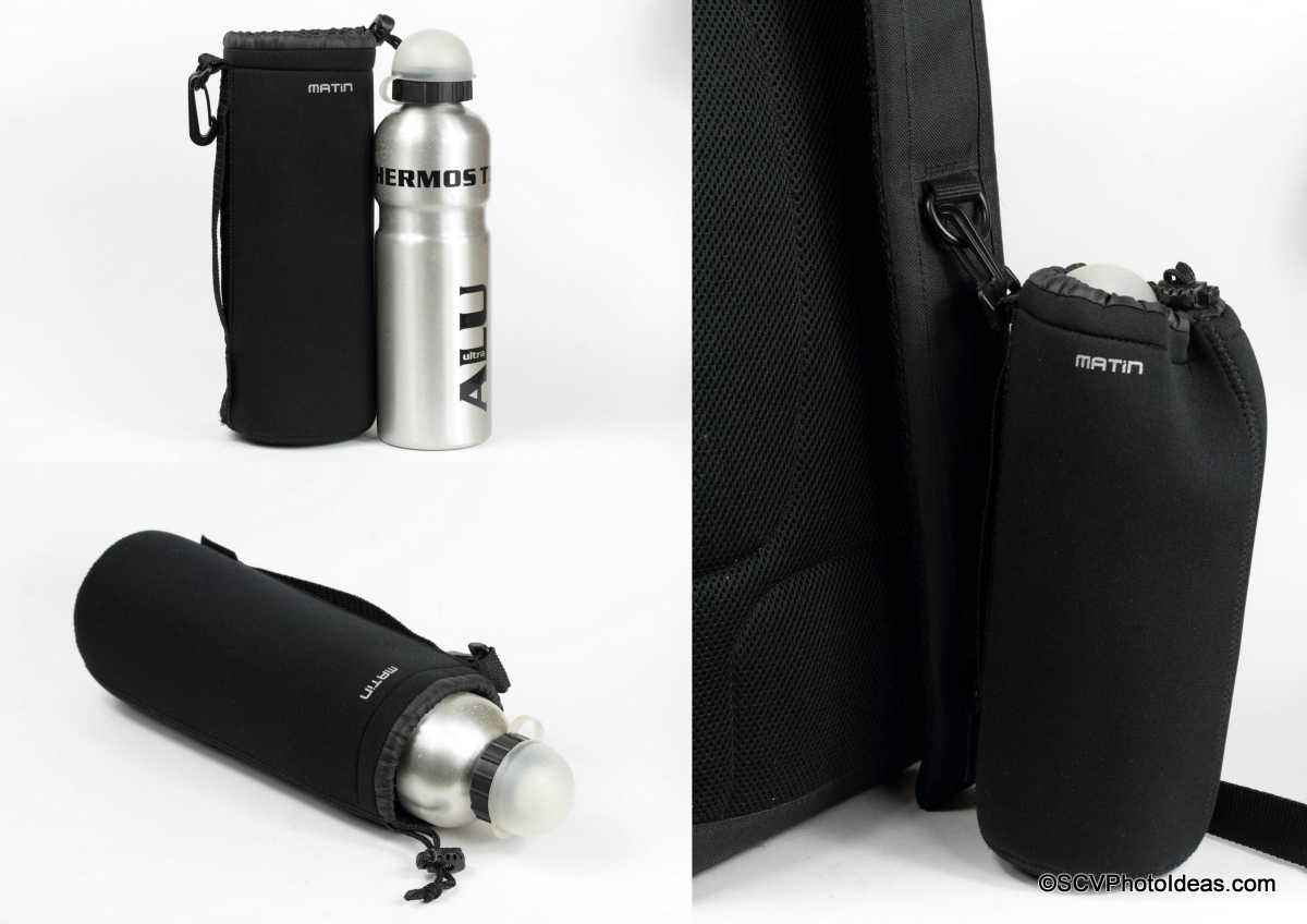 Matin Neoprene Pouch XL with a thermos Alu bottle