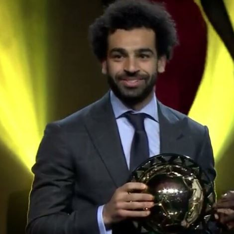Mohamed Salah wins 2018 CAF African Player of the Year for the second time in a row