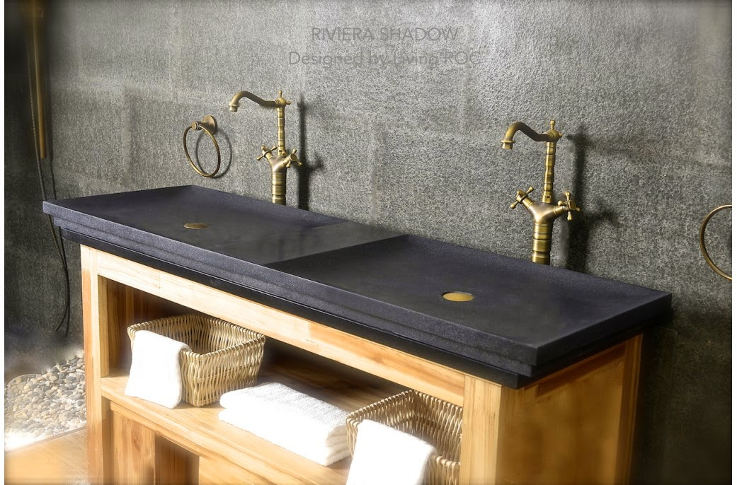 LivingRoc USAThe Blog OUTSTANDING NATURAL STONE BATHROOM VESSEL SINKS
