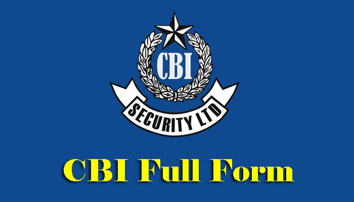 CBI Full Form: सीबीआई का फुल फॉर्म क्या है ?