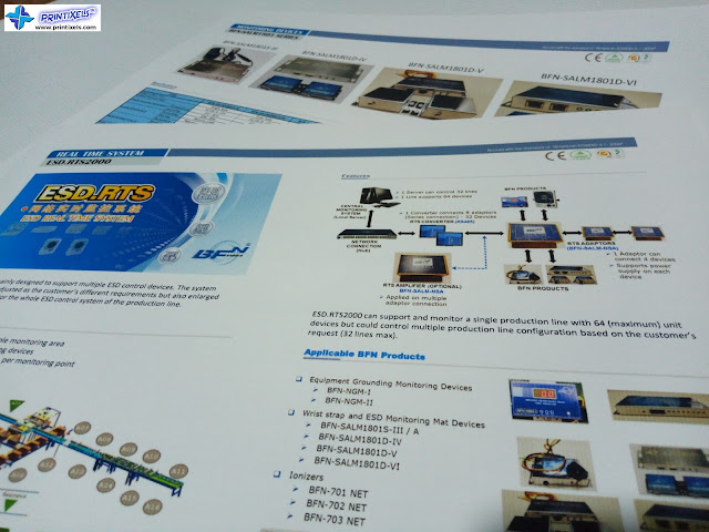 Colored Catalogues for Shenzhen HORB Technology Corp.