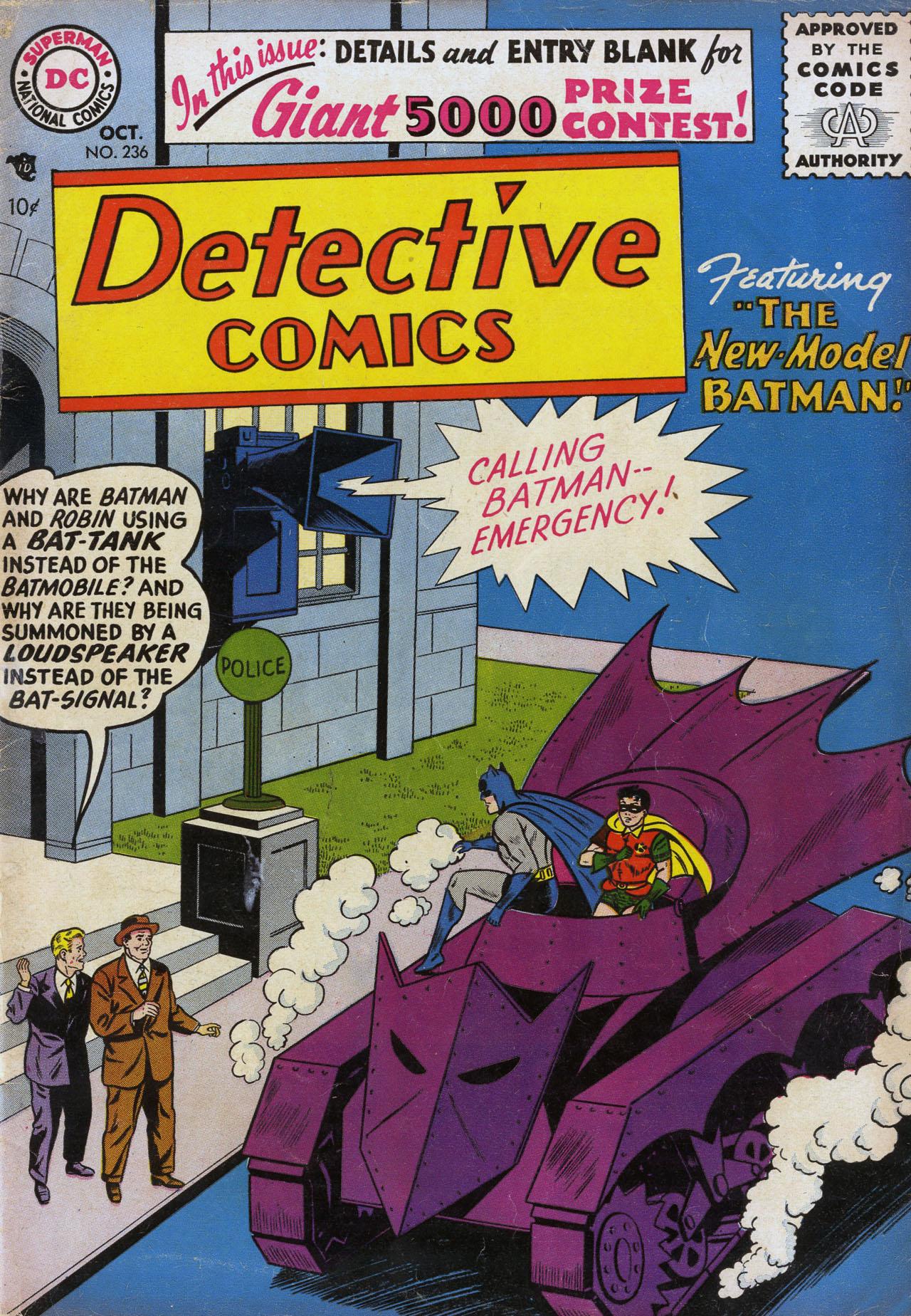 Read online Detective Comics (1937) comic -  Issue #236 - 1