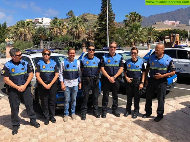 La Policía Local de Los Llanos de Aridane estrena nuevo equipamiento