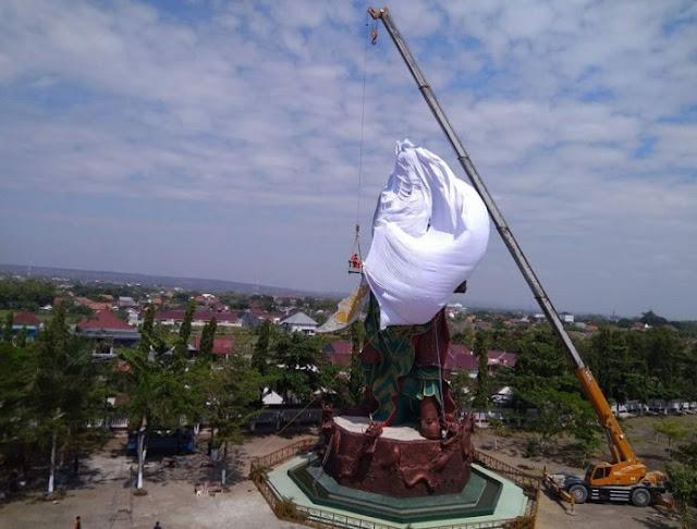 Pengurus Klenteng Putuskan Tutup Patung Jenderal Tiongkok