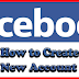 Create An Account On Facebook