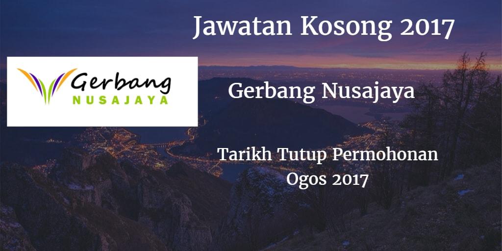 Jawatan Kosong Gerbang Nusajaya Ogos 2017