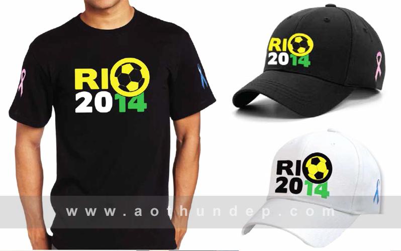 Áo thun và nón RIO 2014