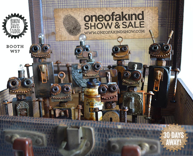 Robots at One of a Kind Show - Robin Davis Studio - Toronto