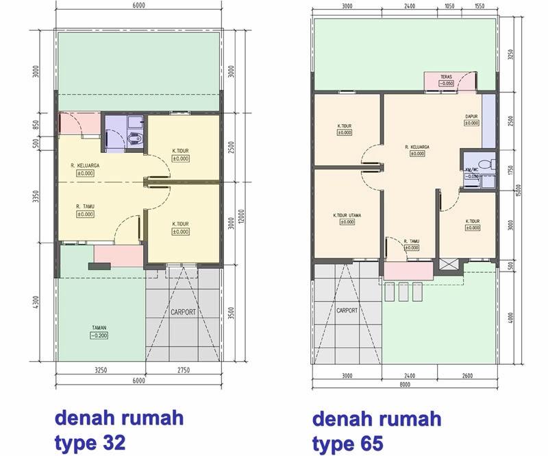 Contoh Gambar Denah Rumah Minimalis Terbaru | Info Tercepatku