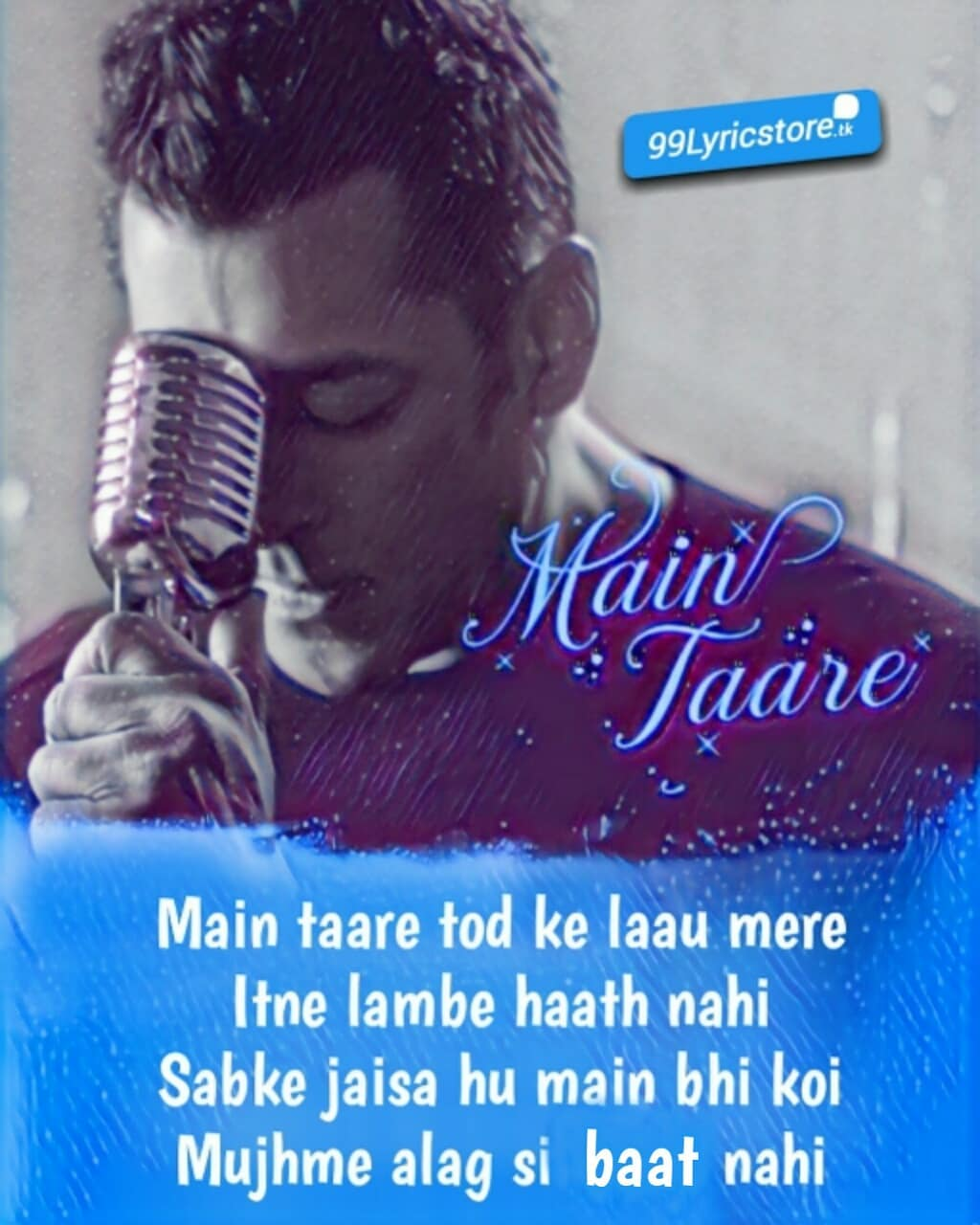 Main Taare Salman Khan Song from movie'Notebook'