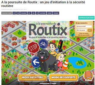 http://education.francetv.fr/matiere/education-civique/ce1/jeu/a-la-poursuite-de-routix-un-jeu-d-initiation-a-la-securite-routiere