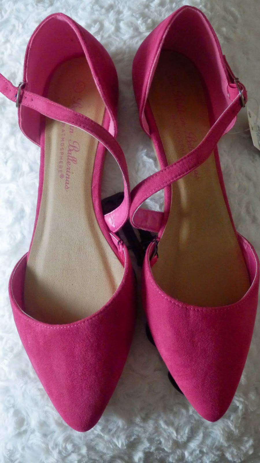 Primark Cross Over Strap Pink Shoes