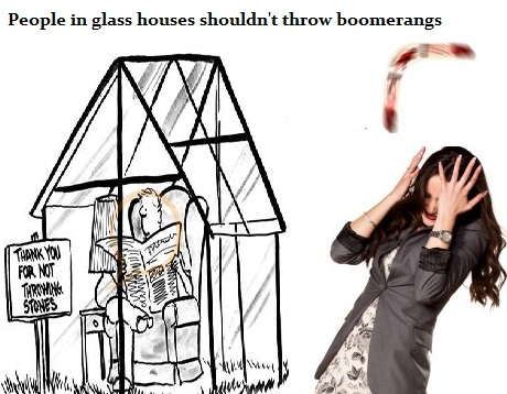 Just Watching The Wheels Go Round People In Glass Houses Shouldn T