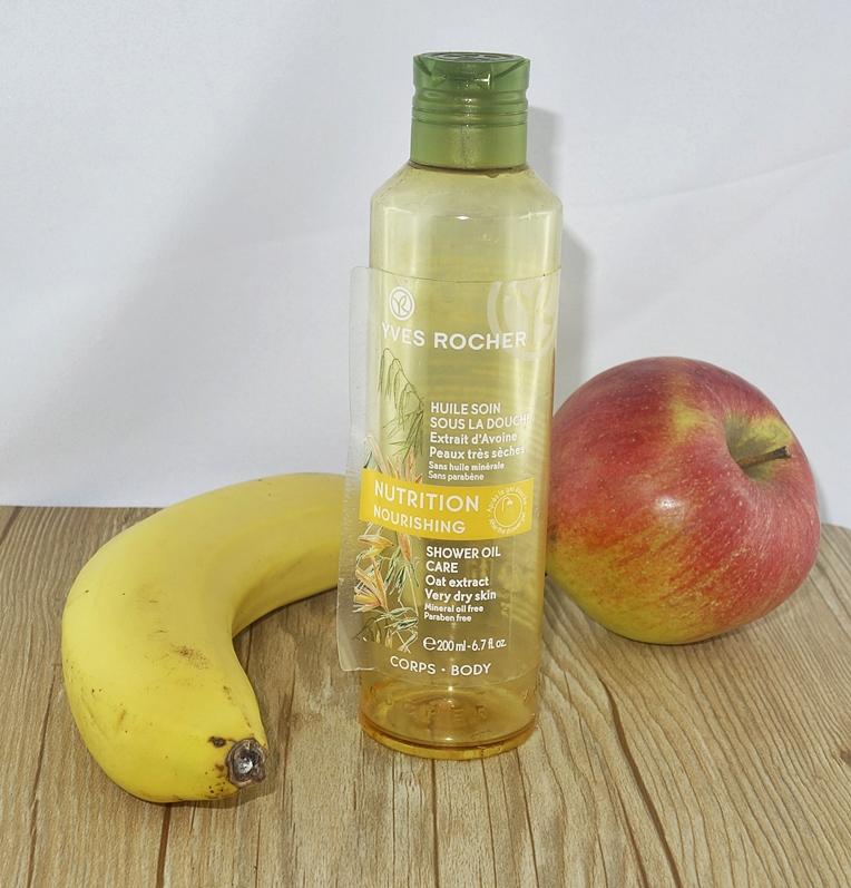 Odżywczy olejek pod prysznic Yves Rocher