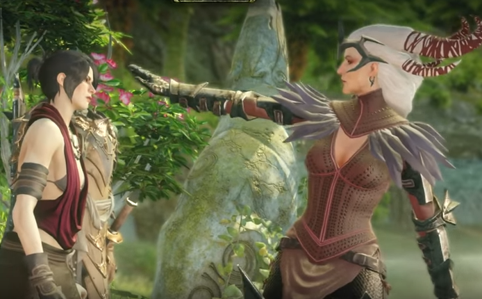Dumped, Drunk and Dalish: The Reunion of Flemeth and Morrigan
