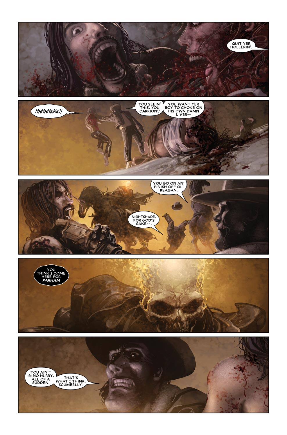 Read online Ghost Rider: Trail of Tears comic -  Issue #6 - 8