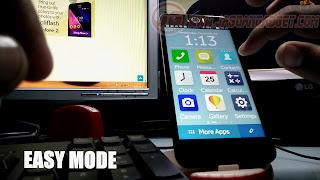 Fitur Easy Mode ASUS Zenfone Selfie