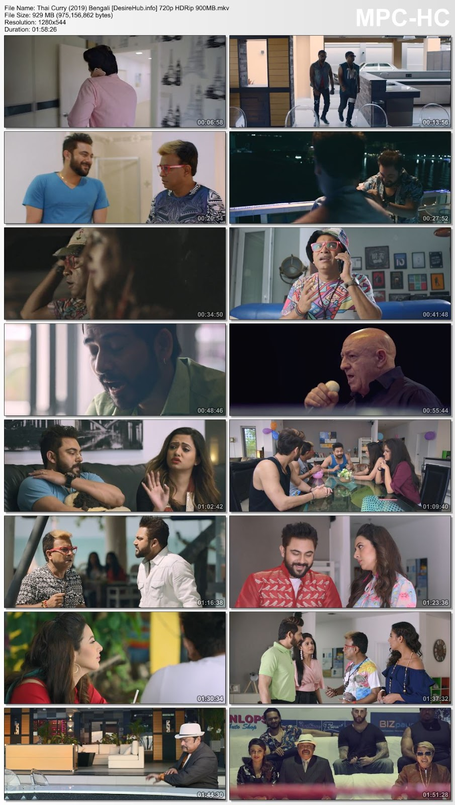Thai Curry (2019) Bengali 720p HDRip 900MB Desirehub