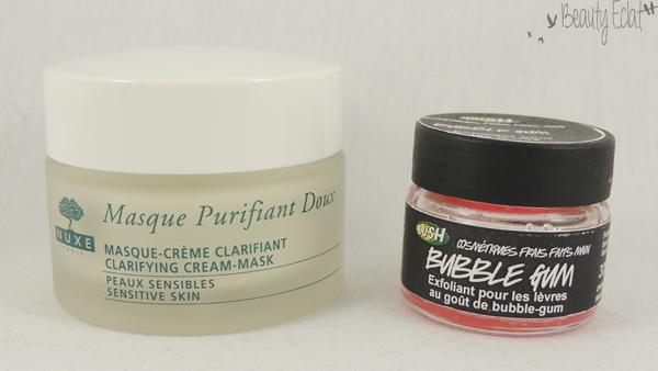 revue avis test lush bubble gum masque nuxe