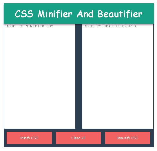 Cara Memasang CSS Minifier Dan Beautifier Di Blog
