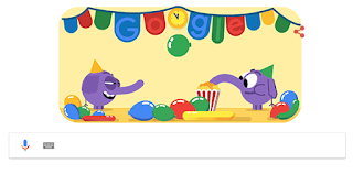 جوجل ترفع شعار ليلة راس السنة 2019 , احتفالات راس السنة الميلادية 2019