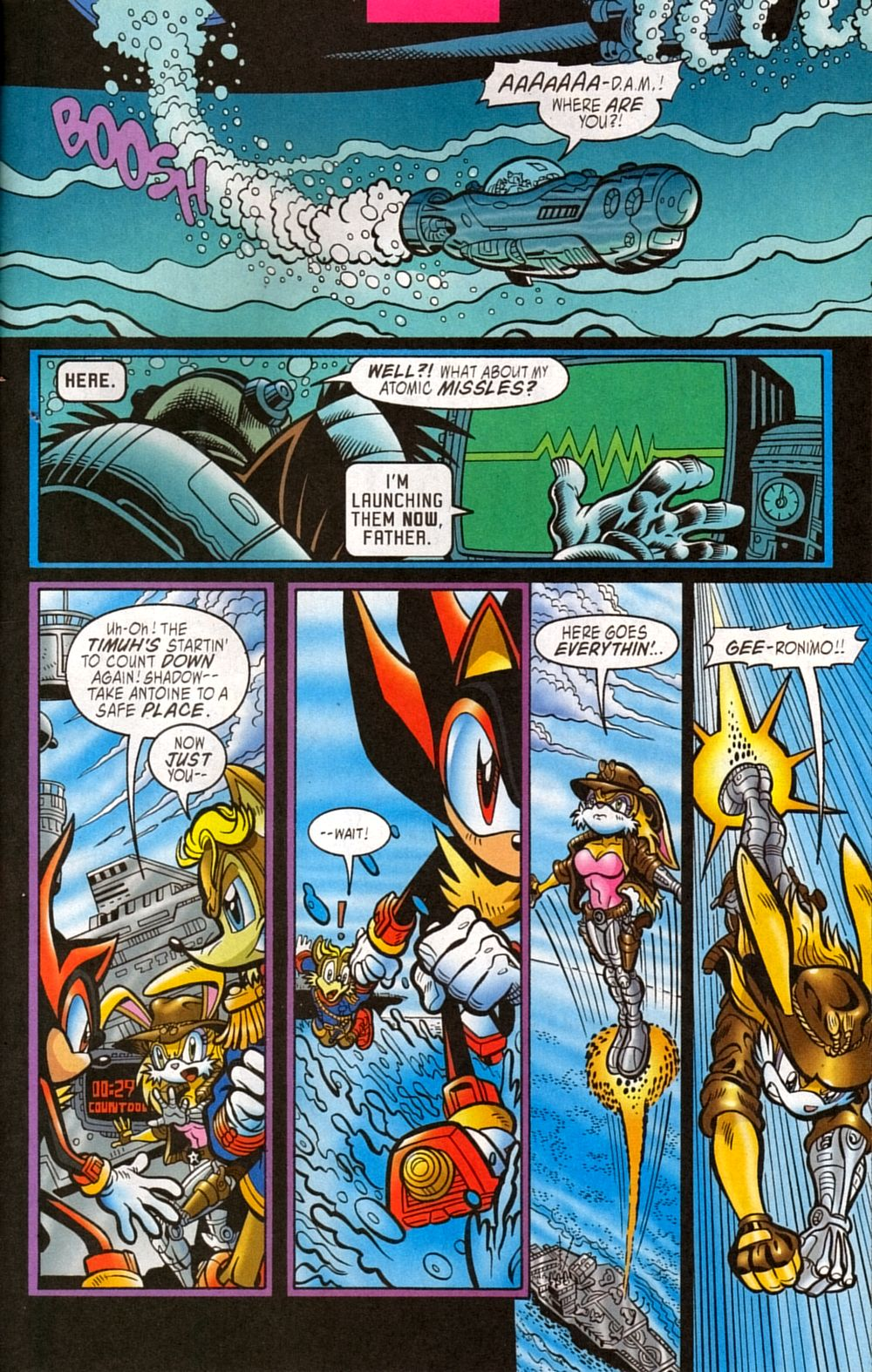Read online Sonic The Hedgehog comic -  Issue #133 - 19