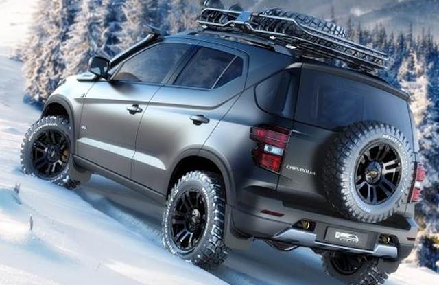 2017 Chevrolet Niva Release