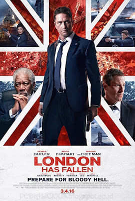Sinopsis film London Has Fallen (2016)