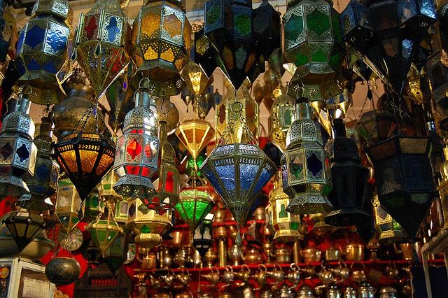 Colored Lights Of Morocco Moroccan Interior Design