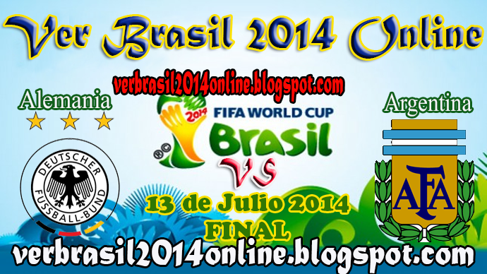 Alemania vs Argentina | Final - Mundial Brasil 2014