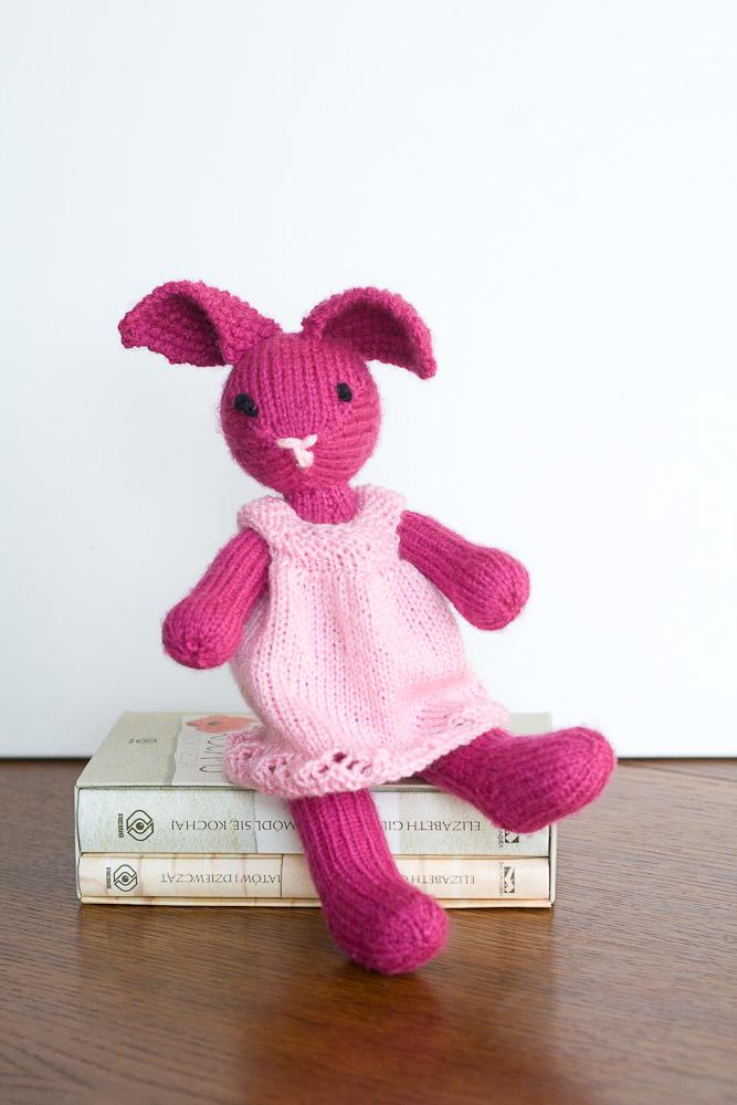 królik na drutach
