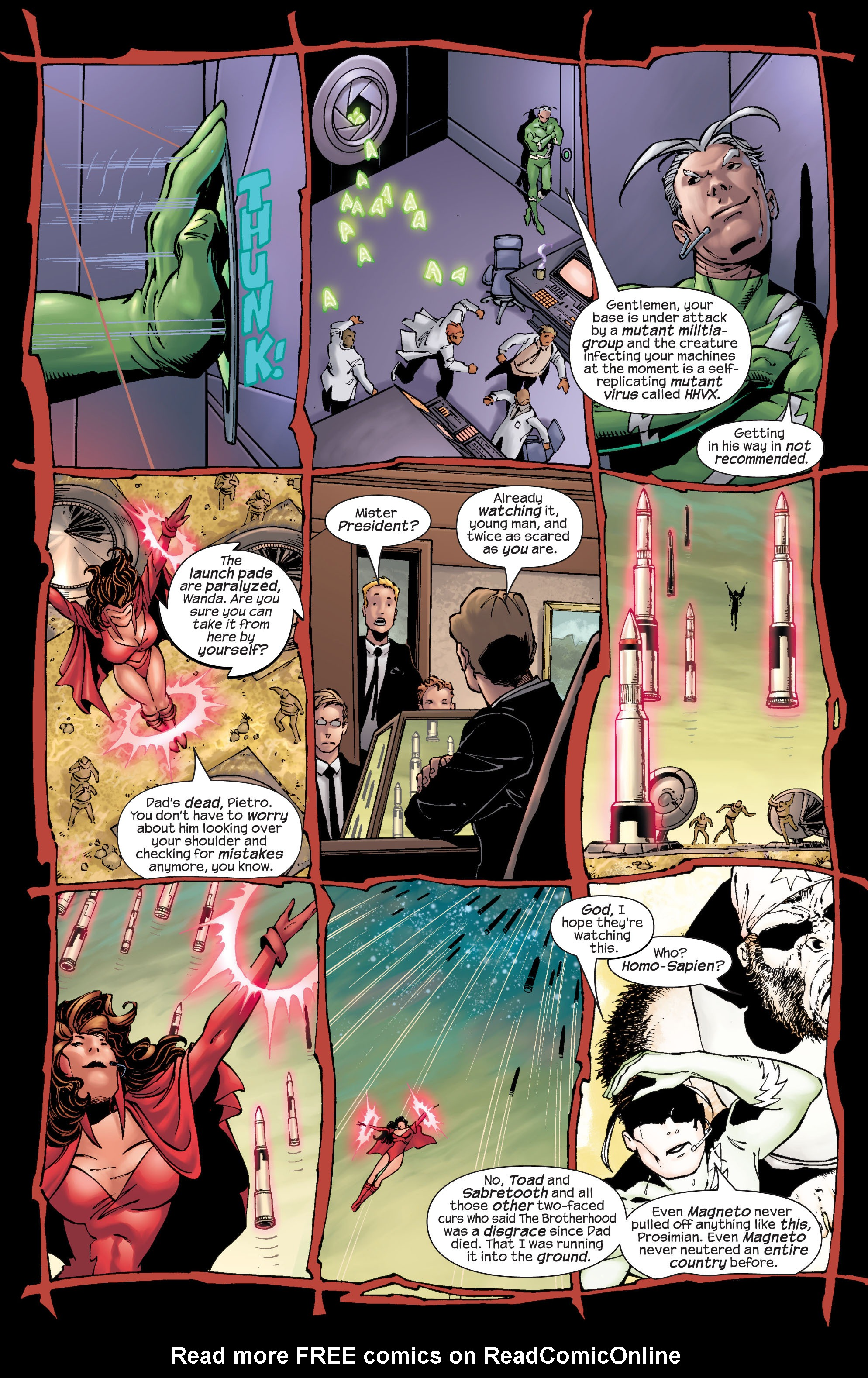 Read online Ultimate X-Men comic -  Issue #22 - 8