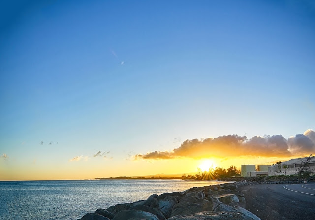 sunrise over Maui