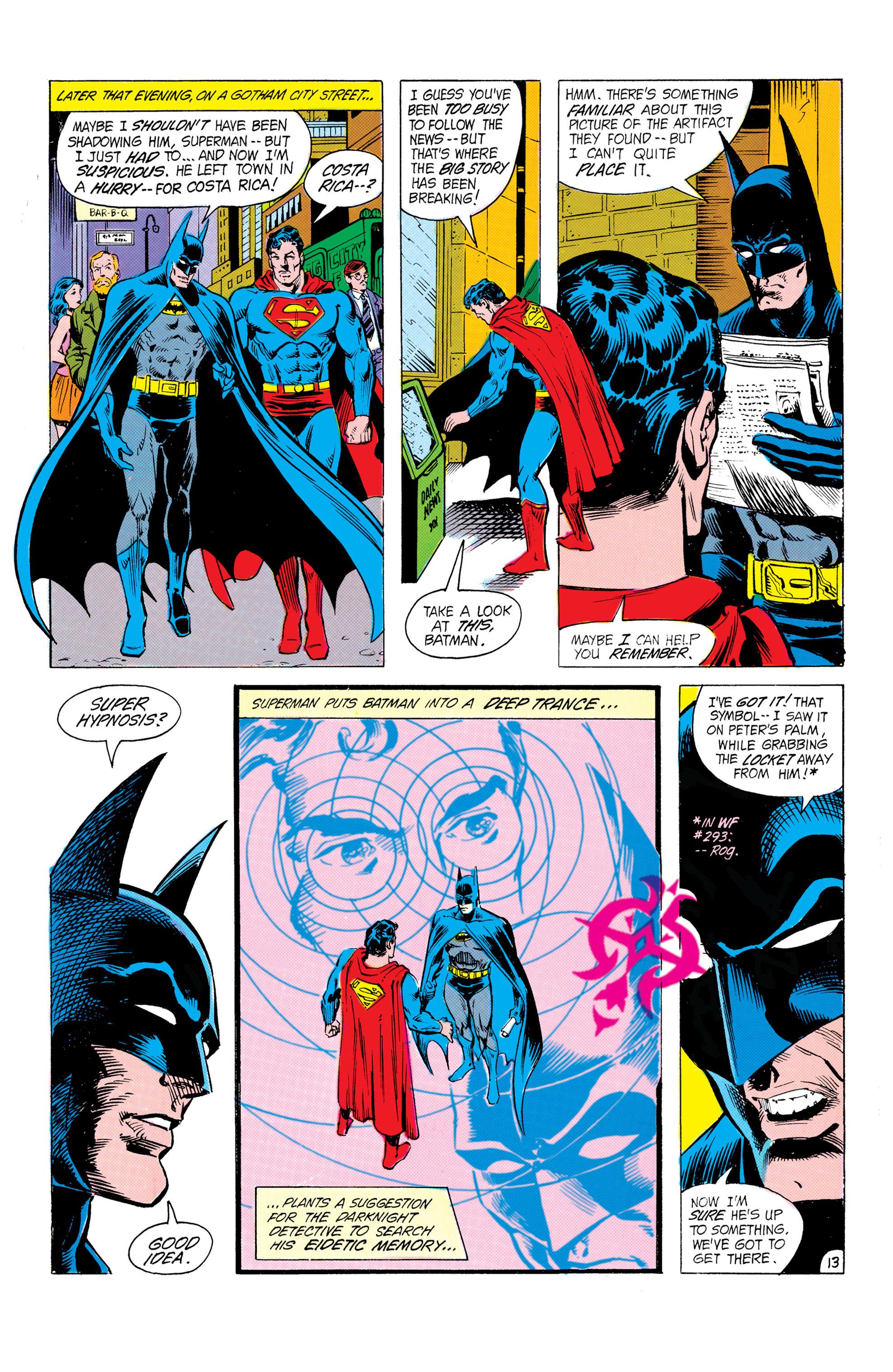 Read online World's Finest Comics comic -  Issue #304 - 14