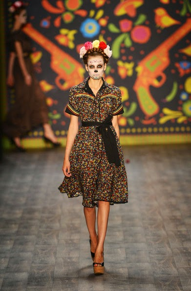 Jena Joyce Makeup Artist Day Of The Dead Fashion Influences
