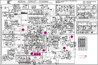 Skema TV LG 14D15 MC994A