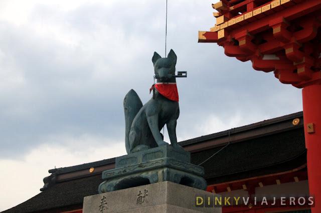 Kitsune de Fushimi Inari-Taisha