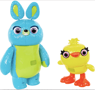 Toy Story 4 Interactive Bunny and Duck Mattel