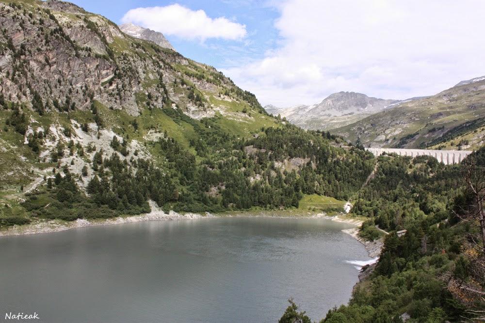 Barrage plan d'aval,  Savoie