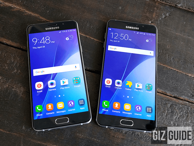 Samsung Galaxy A5 and A7 2016 in the Philippines